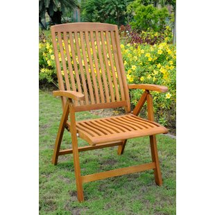 Sabbattus Folding Patio Dining Chair (Set of 2)