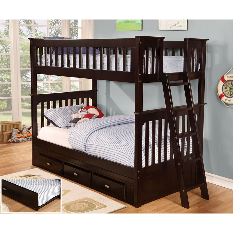 Cambridge Braeburn Twin over Twin Bunk Bed with Trundle