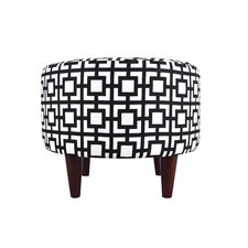Sophia Gigi Round Ottoman by MJL Furniture