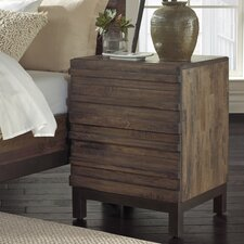 Ashland 2 Drawer Nightstand by World Menagerie