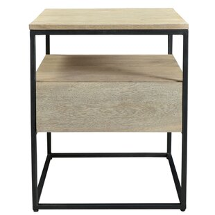 Behan End Table with Storage
