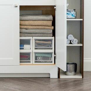 Price comparison 8.5 W Stackable Storage Drawer ByIRIS USA, Inc.