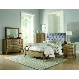 Astoria Grand Bainbridge Upholstered Sleigh Bed