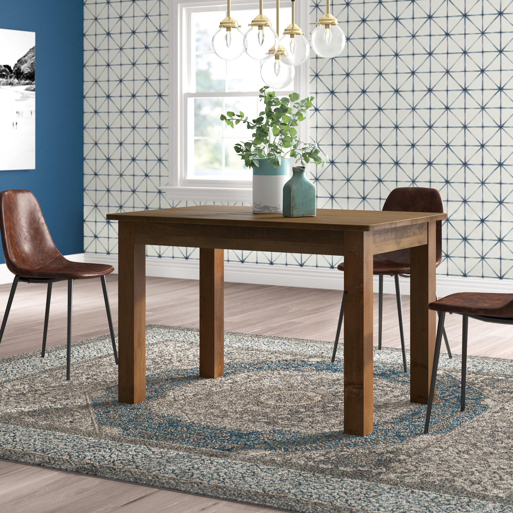 Glencliff Solid Wood Dining Table Joss Main