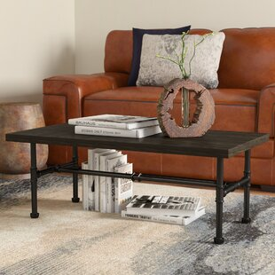 Williston Forge Griffith Industrial Coffee Table
