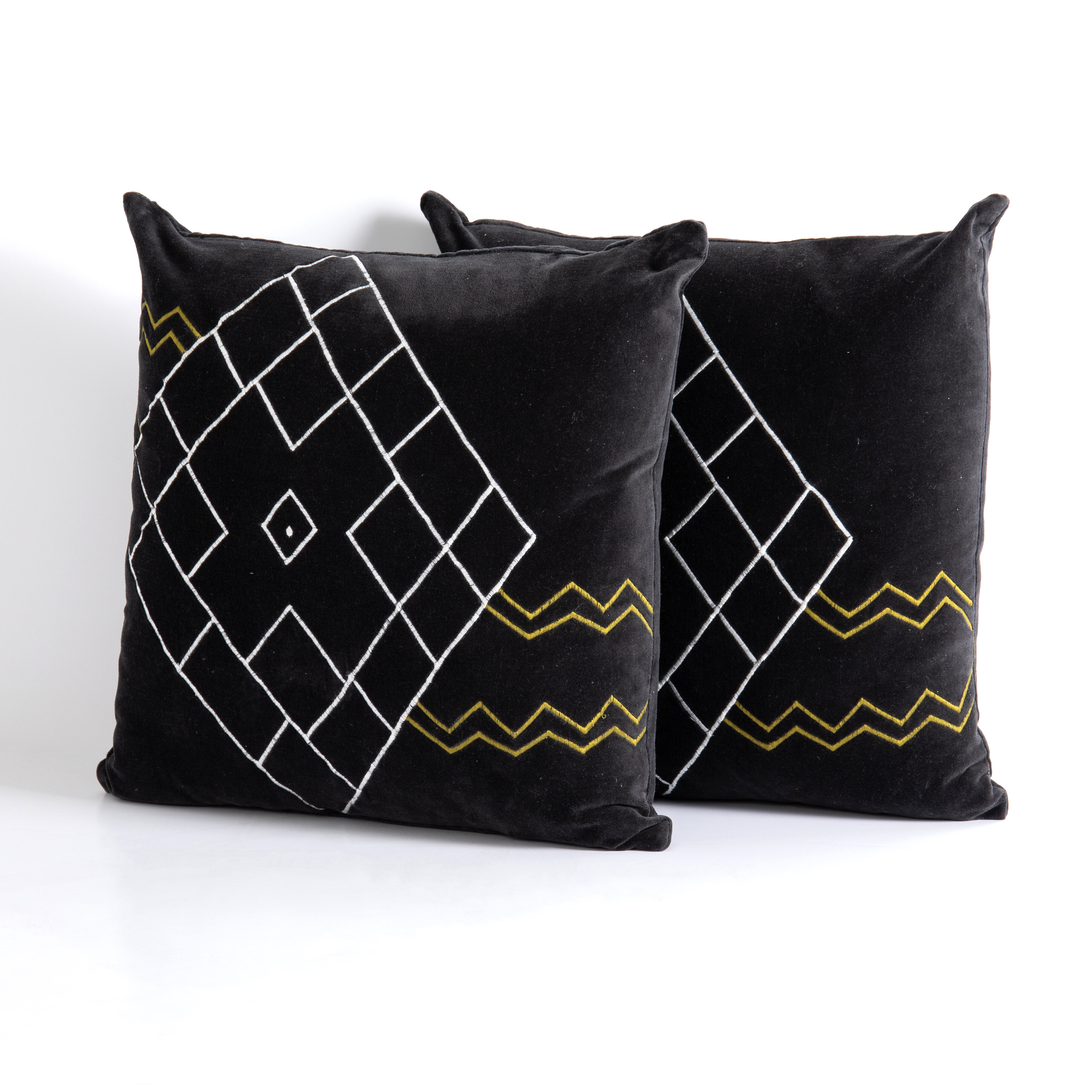 Modern Large Pillow Set Throw Pillows Allmodern