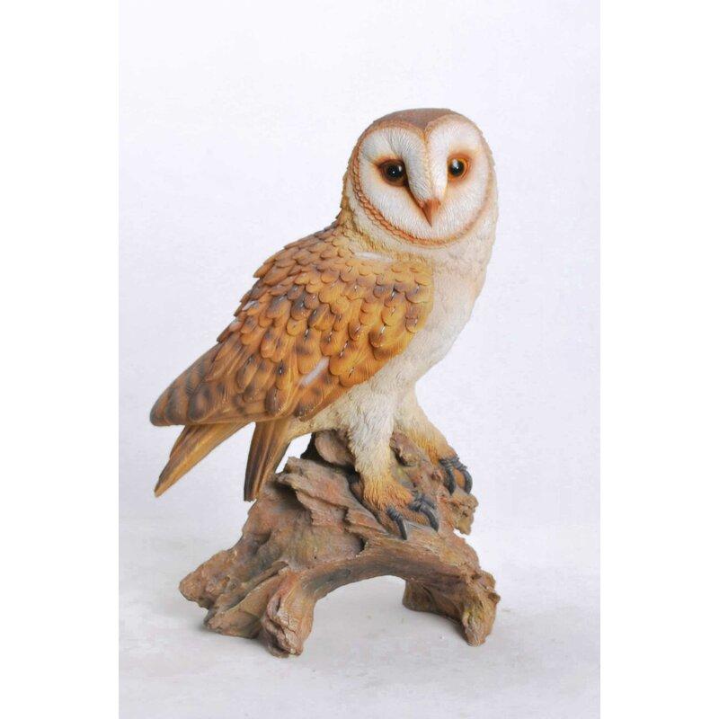 Hi Line Gift Ltd Owl On Branch Statue Reviews Wayfair