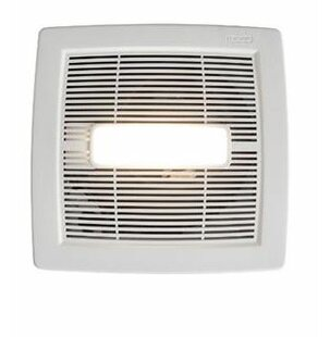 Invent Single Speed 80 Cfm Energy Star Bathroom Fan With Led Light