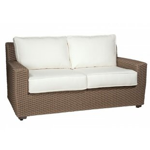 Augusta Loveseat with Cushions by Woodard