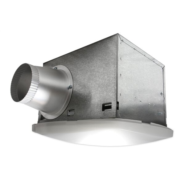 Nuvent High Efficiency Bathroom Fan With Fluorescent Light Wayfair