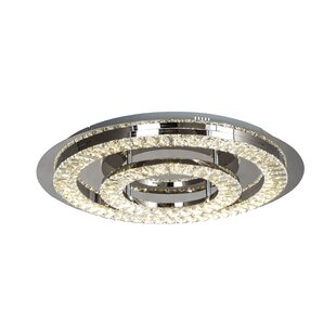 House of Hampton Moberg 1-Light LED Flush Mount