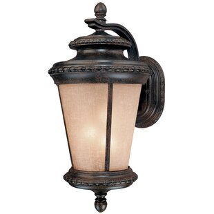 Affordable Tequesta 3-Light Outdoor Wall Lantern By Bloomsbury Market