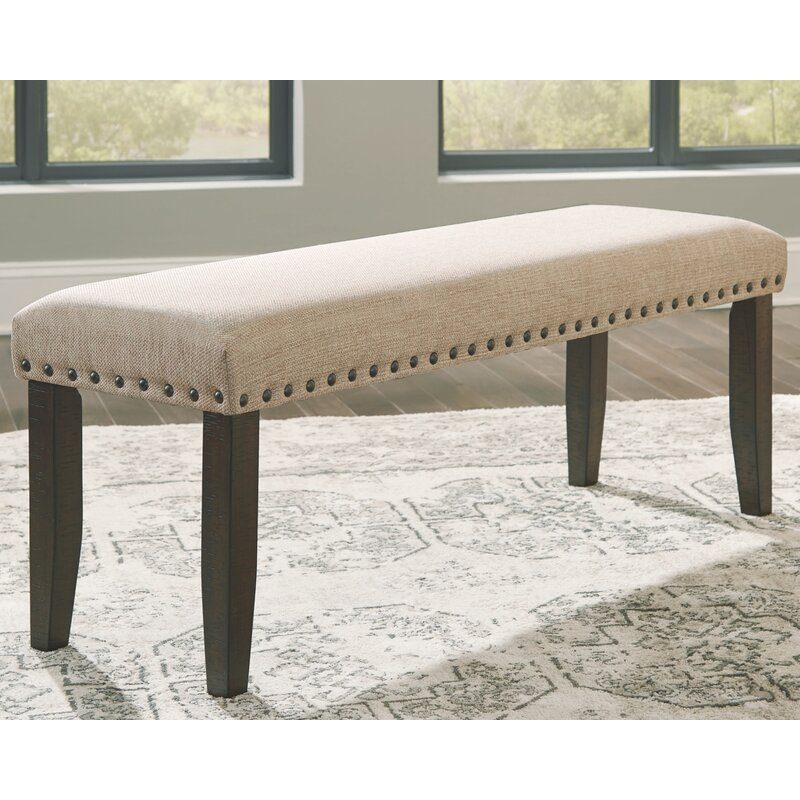 Gracie Oaks Chapdelaine Upholstered Bench Reviews Wayfair