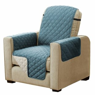 Diamond T-Cushion Armchair Slipcover