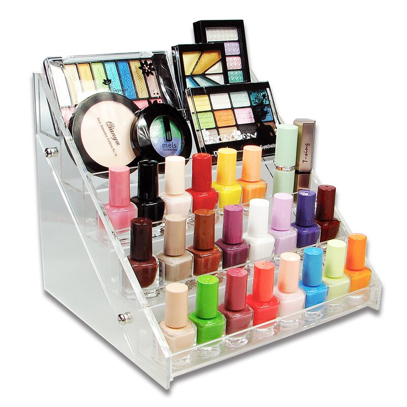 Nail Polish Rack Cosmetic Organizer