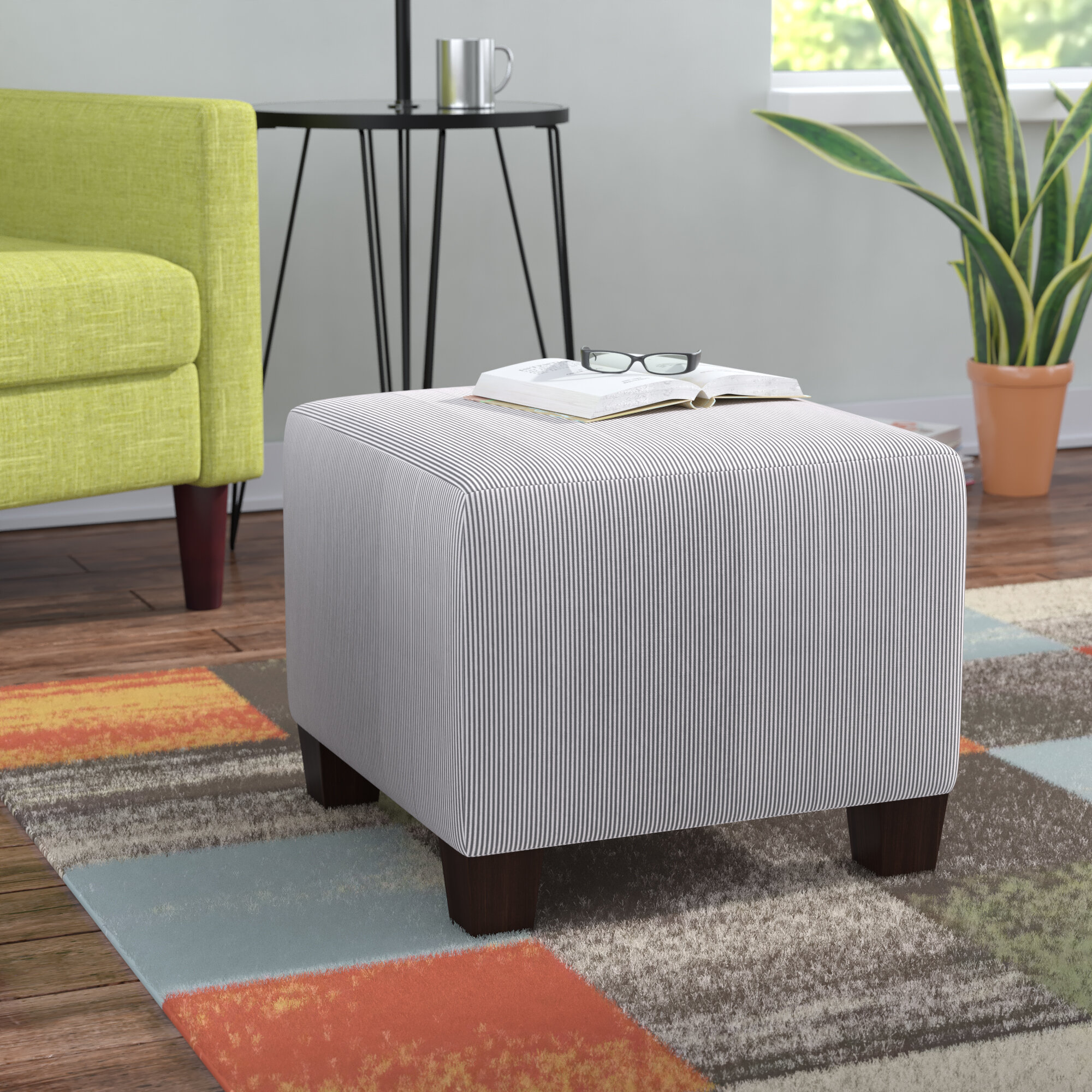 Brayden Studio Oxford Ottoman Reviews Wayfair