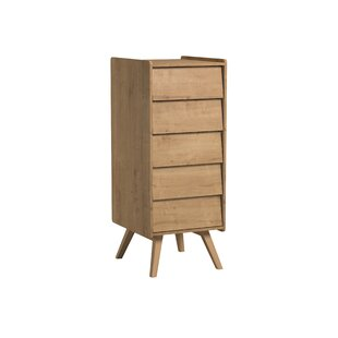 Tamika 5 Drawer Chest By Harriet Bee