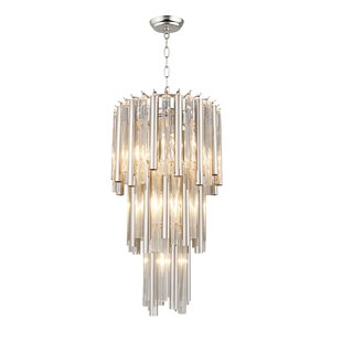Amias 7-Light Crystal Chandelier by Mercer41