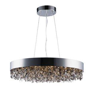 Everly Quinn Ambridge 22-Light Crystal Pendant