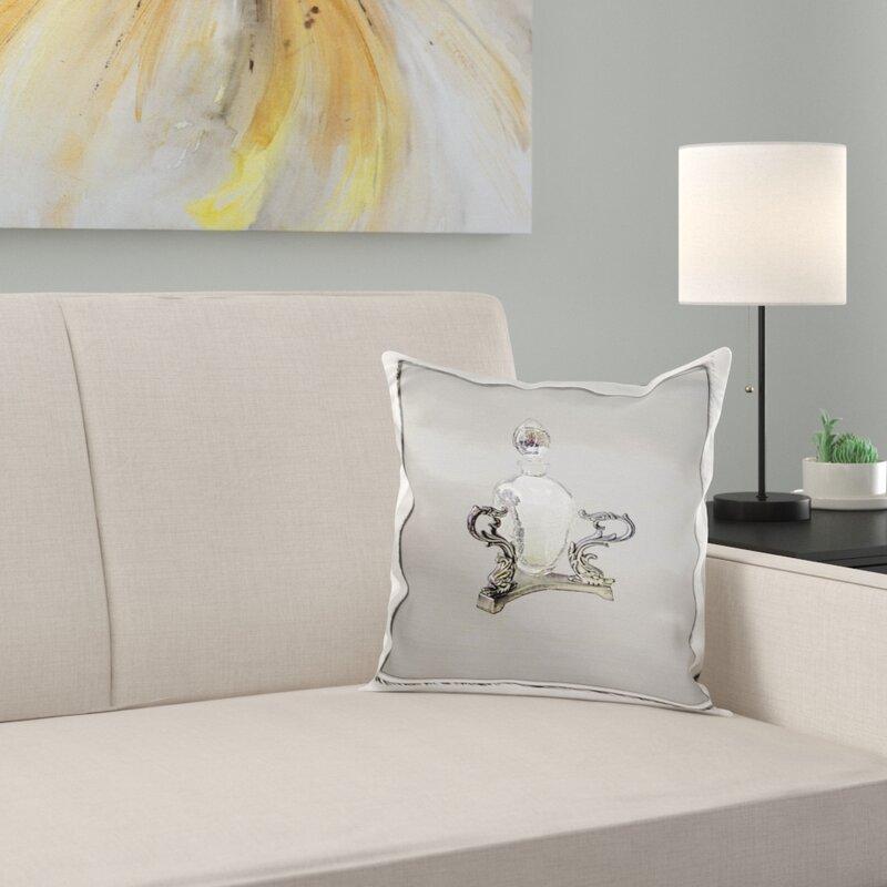 East Urban Home Perfume Bottle Pillow Cover Wayfair