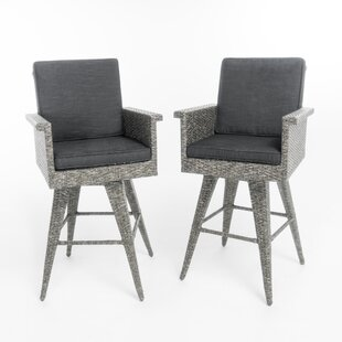 Affordable Washington Bar Stool (Set of 2) by Rosecliff Heights Reviews (2019) & Buyer's Guide
