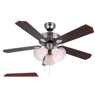 Best Reviews 42 Margaret 5 Blade LED Ceiling Fan ByCharlton Home