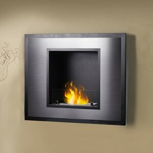 Vahni UL/ULC Listed Wall Mount Bio-Ethanol Fireplace by PureFlame
