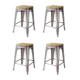 Johannes 24 Bar Stool (Set of 4) by Williston Forge