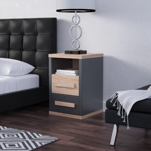 Nowak 2 Drawer Nightstand