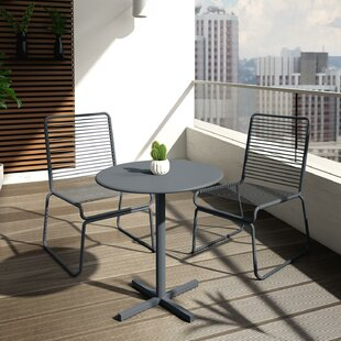Nyla 3 Piece Bistro Set by CosmoLiving by Cosmopolitan