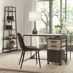 Edgerton Industrial 3 Piece Desk Office Suite