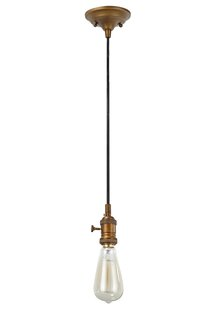 Aspen Creative Corporation 1-Light Bulb P..