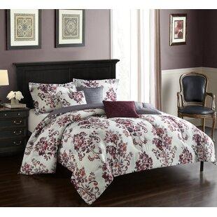 Ida 6 Piece Reversible Comforter Set by Andover Mills