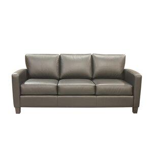 Adeen Leather Sofa by Coja