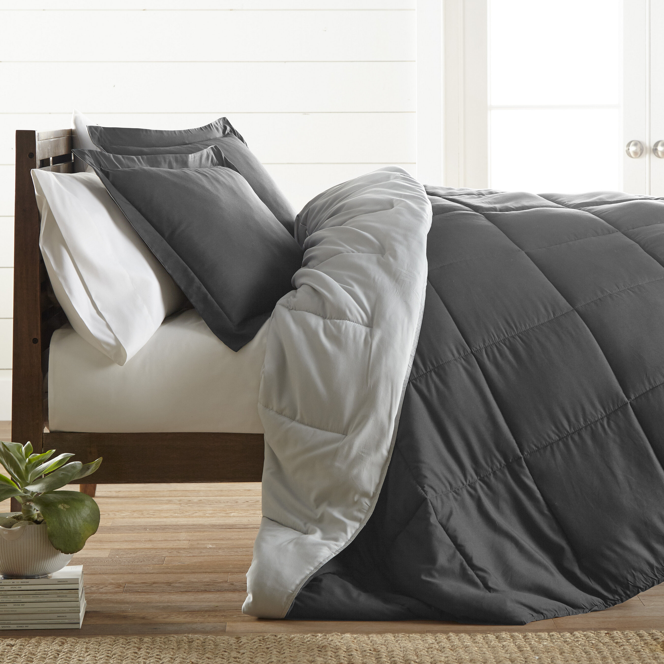 Andover Mills Powhattan Reversible 2 Piece Comforter Set Reviews Wayfair