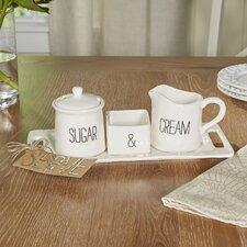 Cafe Cream and Sugar Set