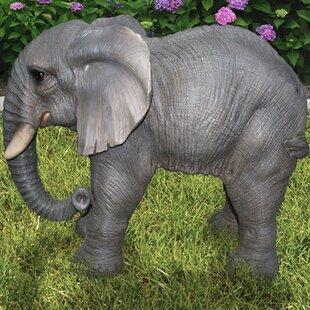 Hi-Line Gift Ltd. Standing Elephant Statue