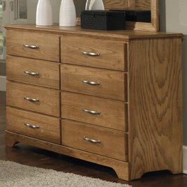 Sterling Tall 8 Drawer Standard Dresser Chest