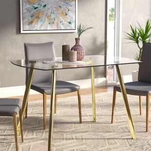 Leia Dining Table Wrought Studio