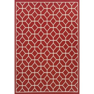Moorgate Red Rug By 17 Stories