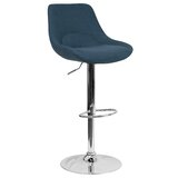 Bowenvale Swivel Adjustable Height Bar Stool by Orren Ellis