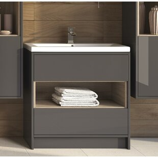 Coast 810mm Free-standing Vanity Unit By Hudson Reed