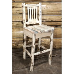 Abordale 30 Clear Lacquer Bar Stool
