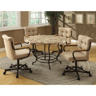 Hattie 5 Piece Breakfast Nook Dining Set  sc 1 st  Wayfair & Dinettes u0026 Breakfast Nooks Youu0027ll Love | Wayfair