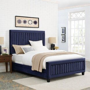 Gerke Upholstered Panel Bed by Mercer41