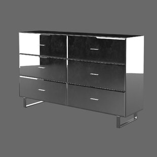 Hal Mirror 6 Drawer Standard Dresser