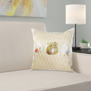 Peter Rabbit and Friends Pillow Cover