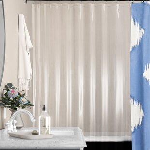 Affordable Stall PEVA Shower Curtain Liner By Symple Stuff