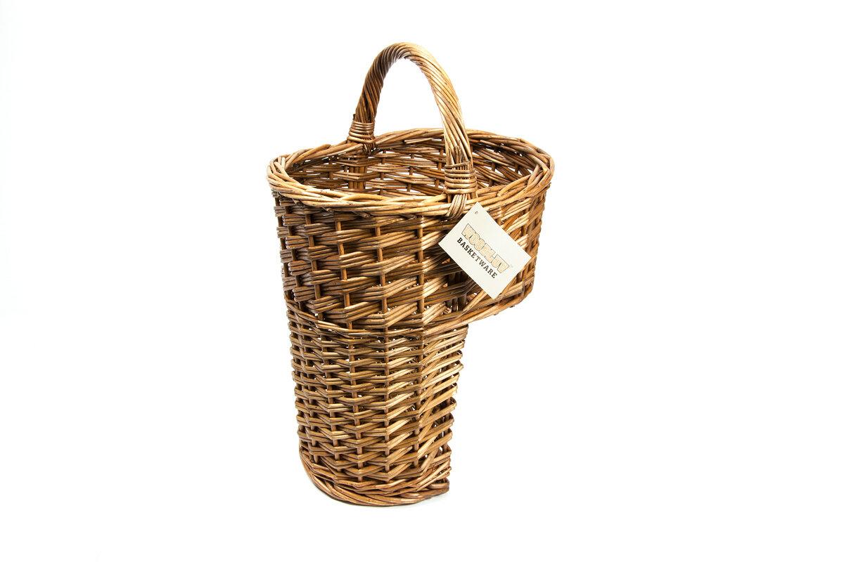 Woodluv Stair Wicker Basket | Wayfair.co.uk