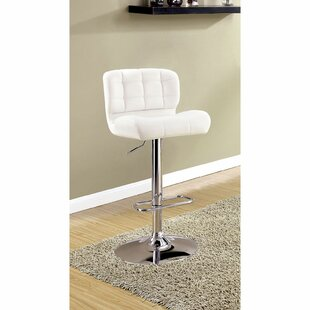 Quintin Adjustable Height Swivel Bar Stool